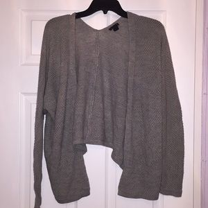 Forever 21 Gray Knit Cardigan